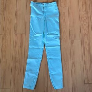 American Apparel High Waisted Skinny Jeans - Sz M